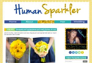 Human Sparkler!