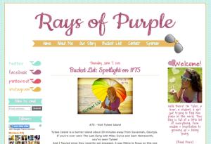 Rays of Purple