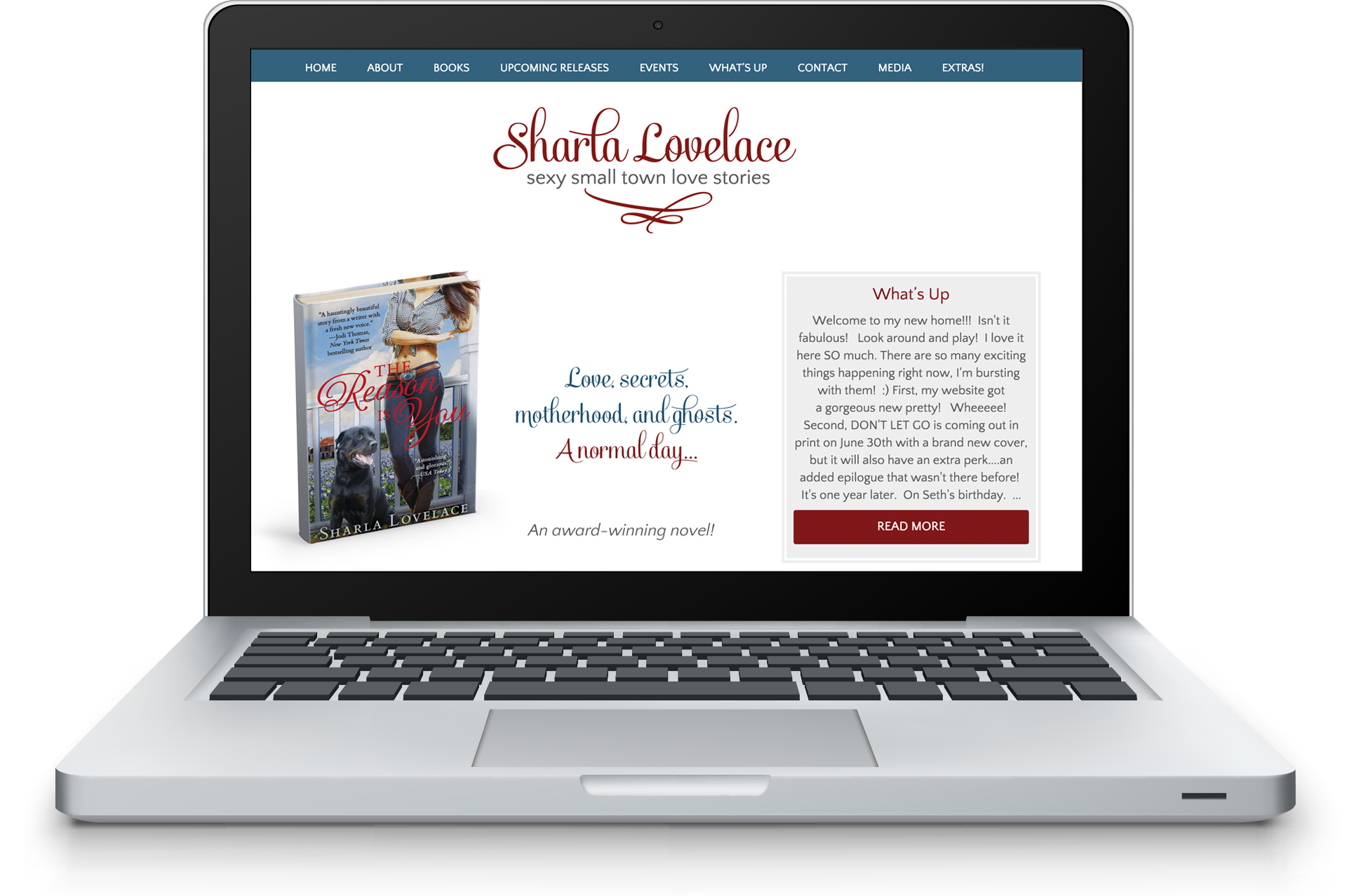 AuthorSiteDesignSharlaLovelace