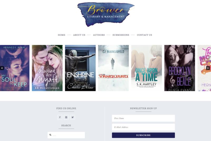 Brower Literary Agency Website