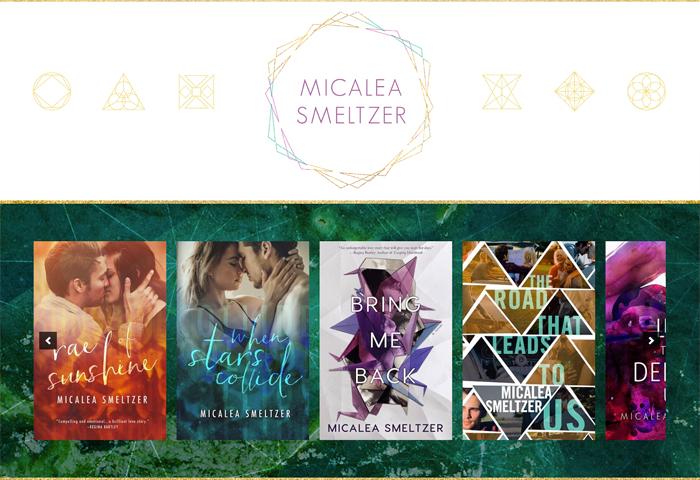 Author Site Design for Micalea Smeltzer