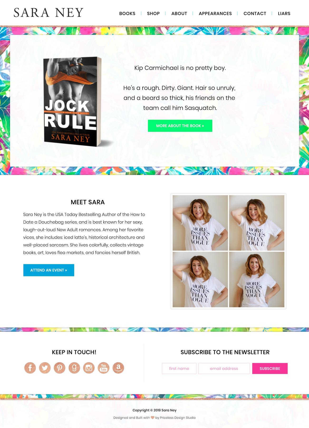 saraney_homepage