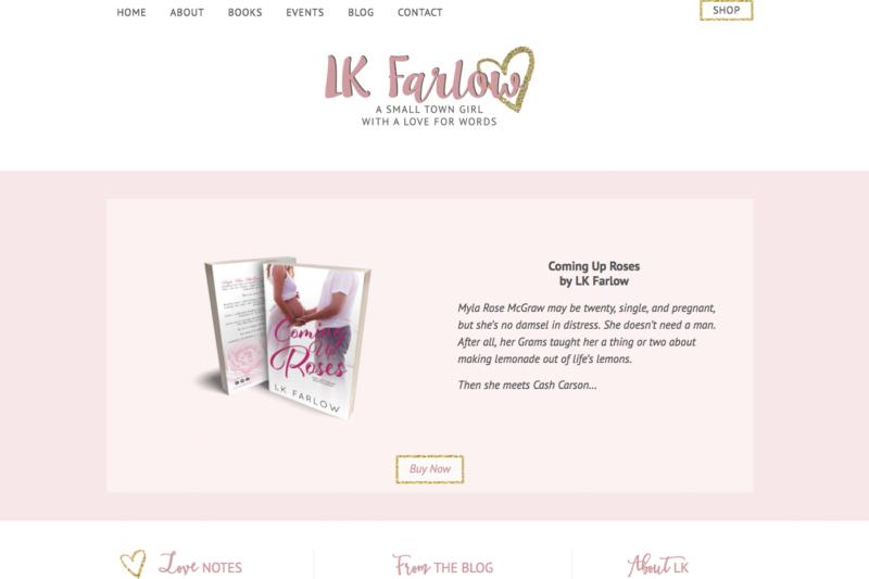 authorlkfarlow website